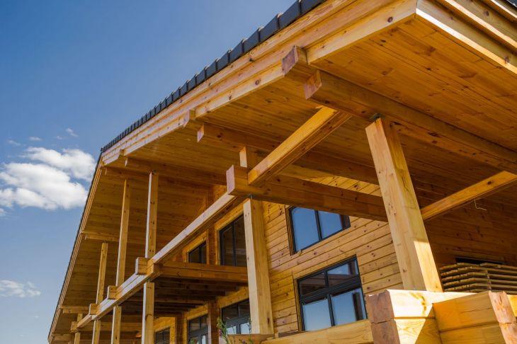 Een huis van steen of hout?